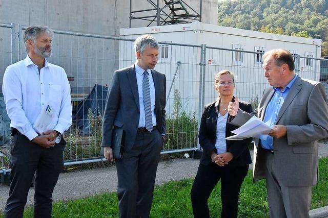 Staatssekretär informiert sich über Verkehrsprojekte beim Zentralklinikum