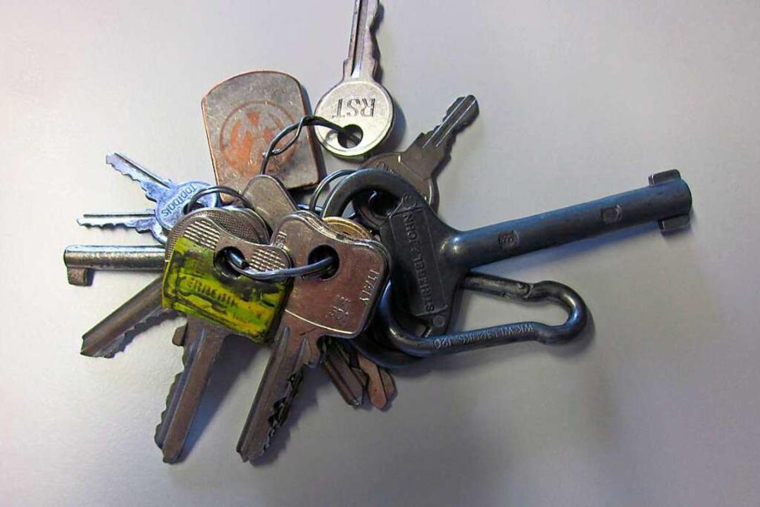 Diesen Schlüssel hat die Polizei im Zu...Einbruch in St. Märgen sichergestellt.  | Foto: PP Freiburg