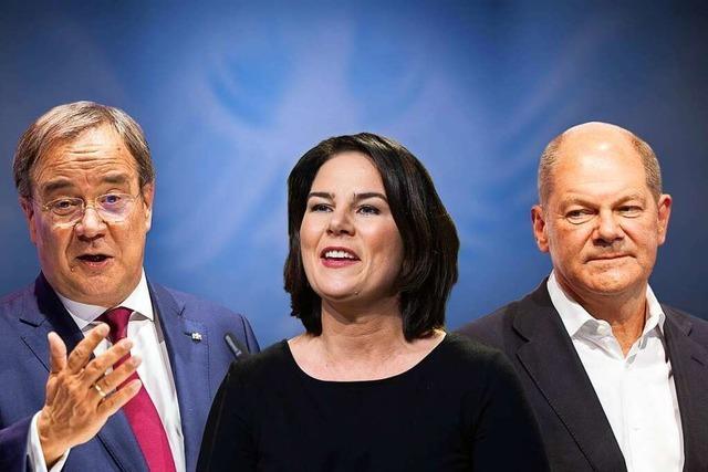 Überblick: Die politische Lage vier Wochen vor der Bundestagswahl