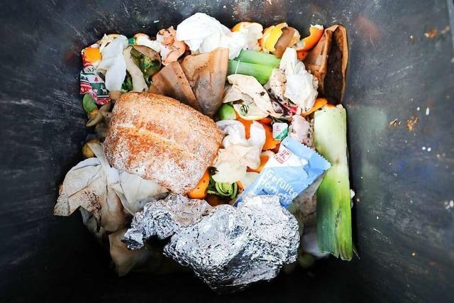 In Deutschland landen immer noch viele Lebensmittel im Müll