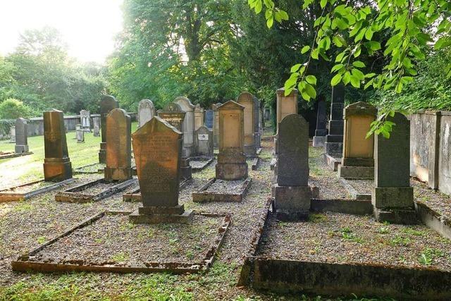 Der jüdische Friedhof in Efringen-Kirchen kann besichtigt werden