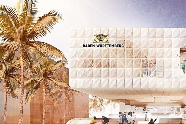 Weitere Zusatzkosten für Landes-Pavillon auf der Expo in Dubai erwartet