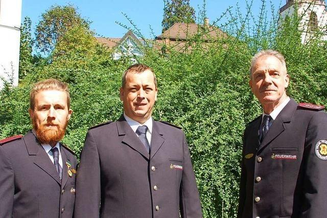 Kommandantenwechsel bei der Feuerwehr in Eichsel