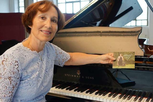 Warum eine Pianistin ihre CD in einer Schopfheimer Industriehalle aufnimmt