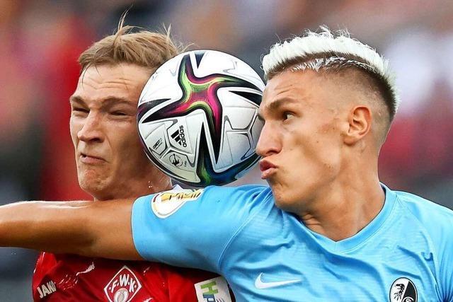 Nico Schlotterbeck vom SC Freiburg ist im Kader der Nationalmannschaft