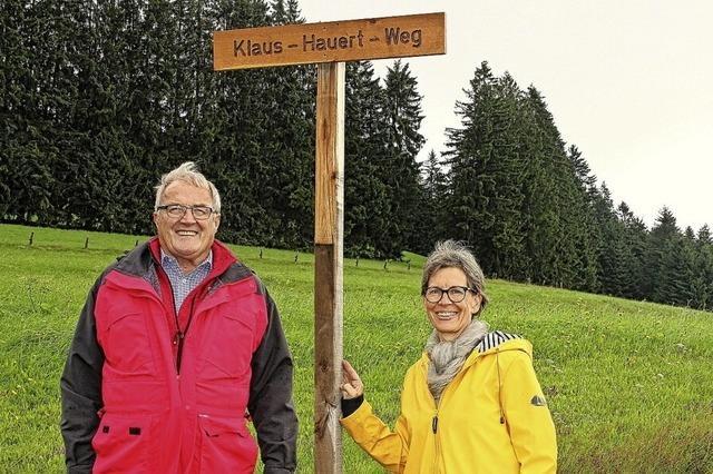 Auf dem Hauert-Weg zum Hotzenwaldhaus
