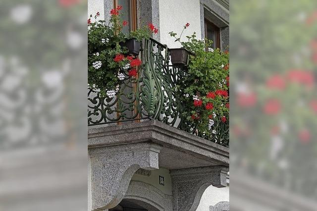 Ein schöner Balkon wirkt