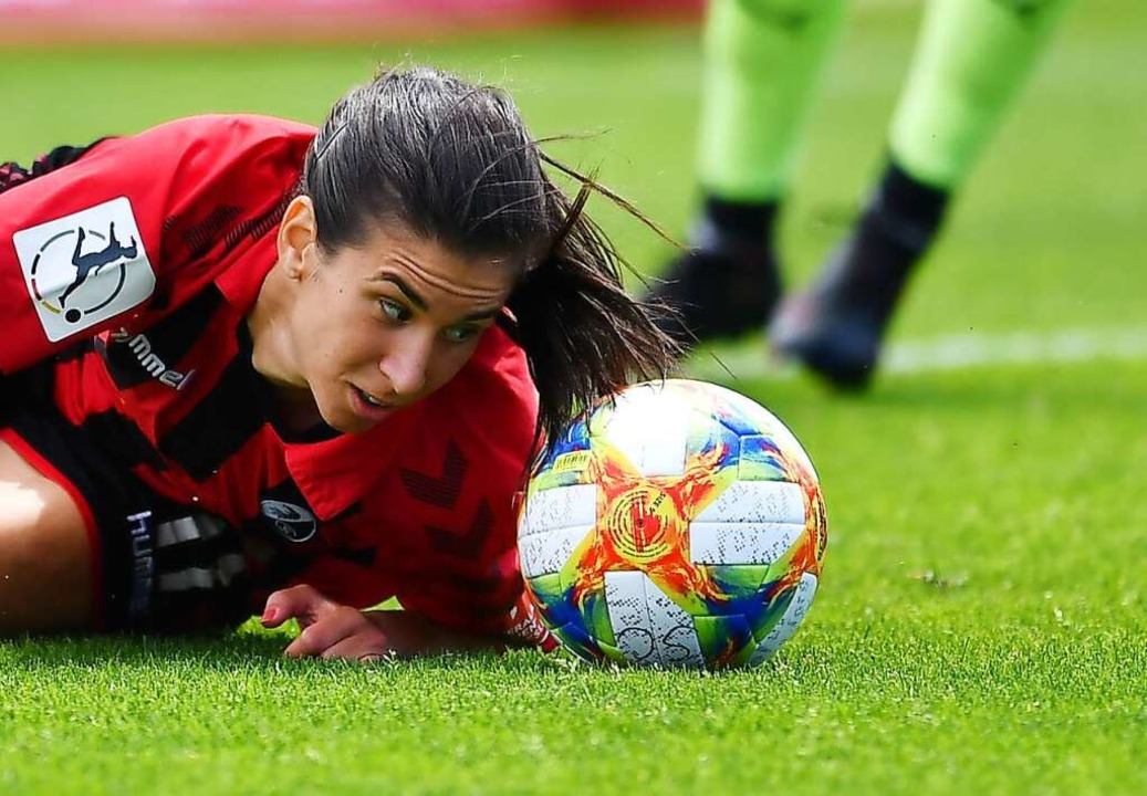 Sie erzielte das erste Tor der Saison 2021/22: Hasret Kayikci    Foto: Achim Keller/SCFreiburg