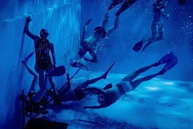 Unterwasserrugby in Basel: kein Sport für Weicheier
