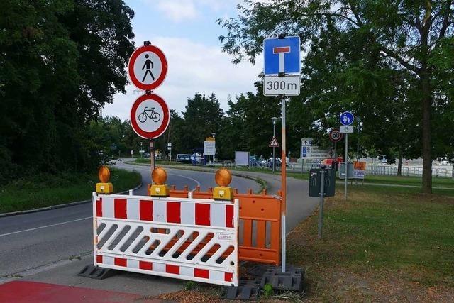 In ganz Weil am Rhein gibt es Baustellen – und noch ist kein Ende abzusehen