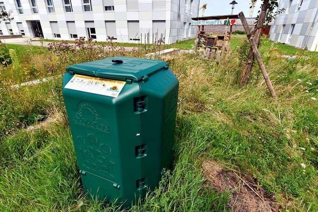 Universität und Wohnheime wollen Abfall vermeiden