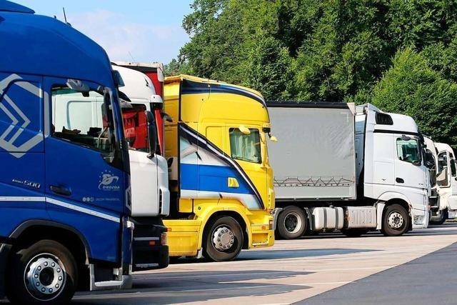 In der Region Rheinfelden gibt es keine Infrastruktur für Lastwagenfahrer