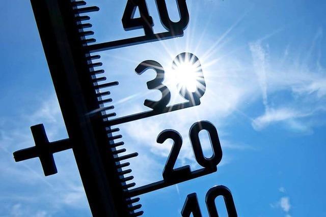 Wetteraufzeichnungen belegen, dass es auch in Ettenheim wärmer wird