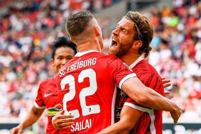 3:2 nach 3:0: SC Freiburg gewinnt packendes Landesduell in Stuttgart