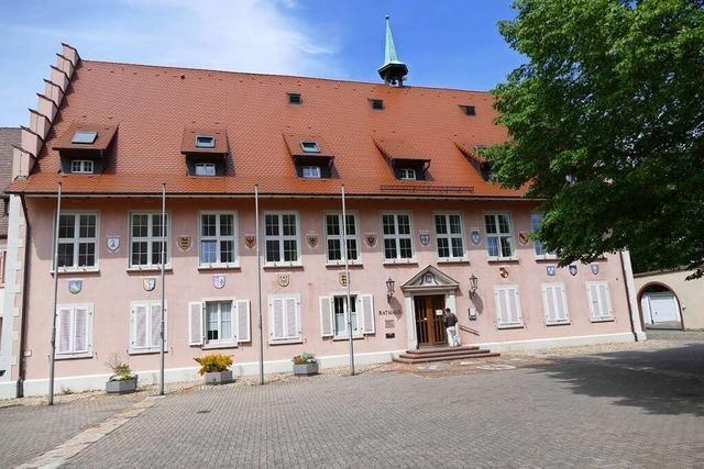 Einbruch ins Breisacher Rathaus