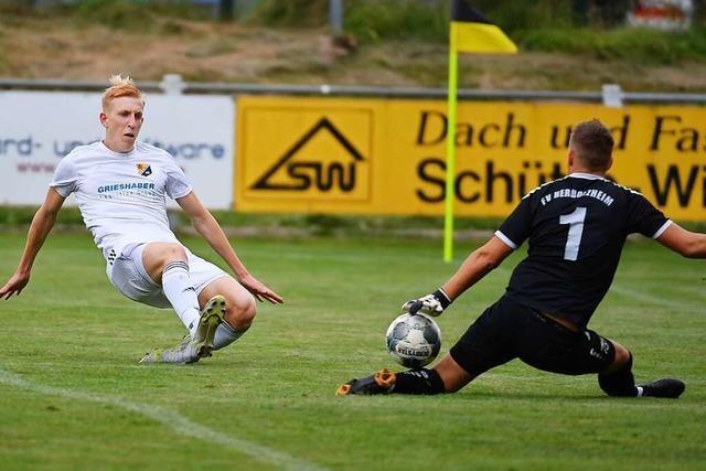 SV 08 Laufenburg verdient sich Punktgewinn beim FV Herbolzheim