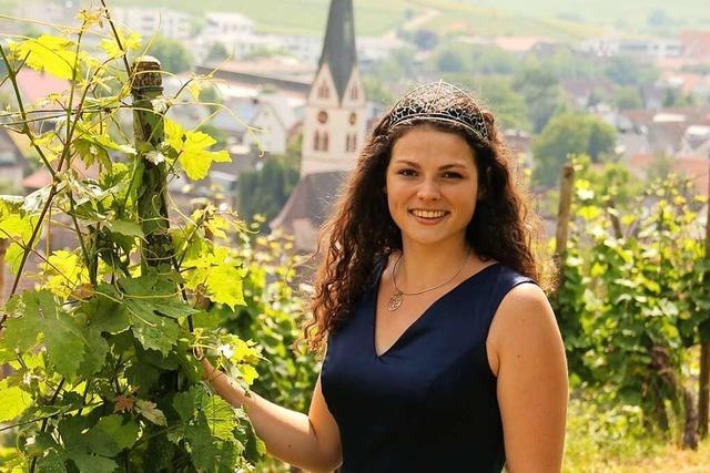 Was die Badische Weinkönigin ohne Weinfeste so macht