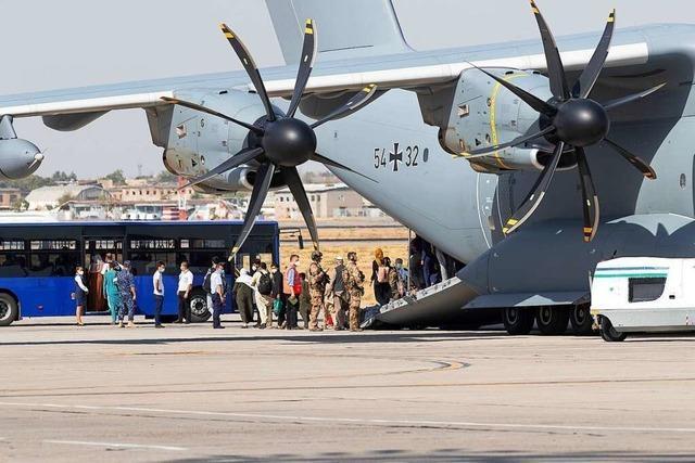 Bericht: Nur 100 der 4500 aus Kabul ausgeflogenen Menschen waren Ortskräfte