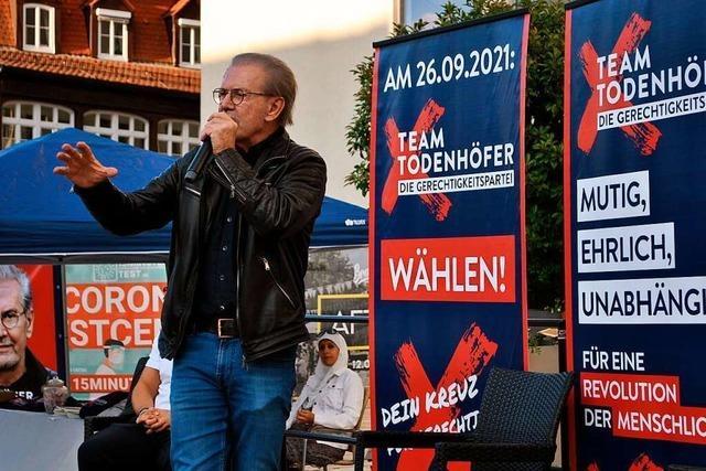 Jürgen Todenhöfer in Offenburg: