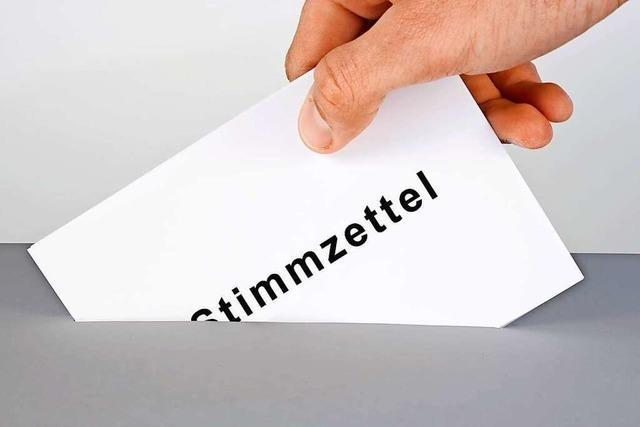 Im Wahlkreis Emmendingen – Lahr werden rund 225000 Wahlscheine versendet