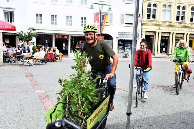760 Kilometer ist Grünen-Politiker Gerhard Zickenheiner geradelt