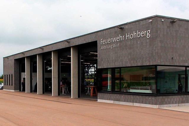 Vision nach zehn Jahren real: Neues Feuerwehrhaus in Hohberg eingeweiht