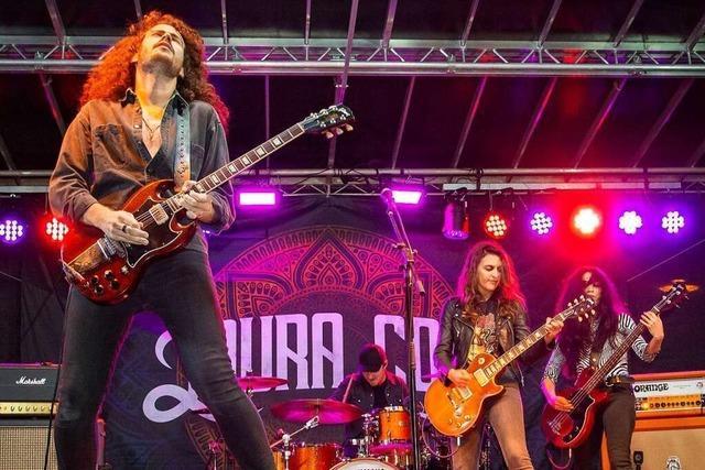 Rockröhren eröffnen das Dreyland-Blues-Festival in Schopfheim