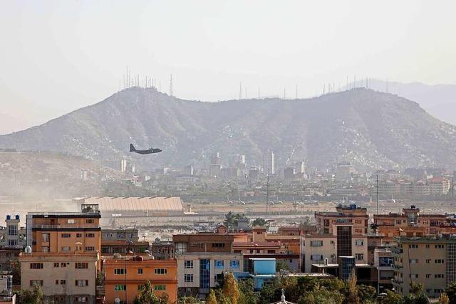 US-Militär greift mit Drohne in Kabul an - Terrorgefahr weiter hoch
