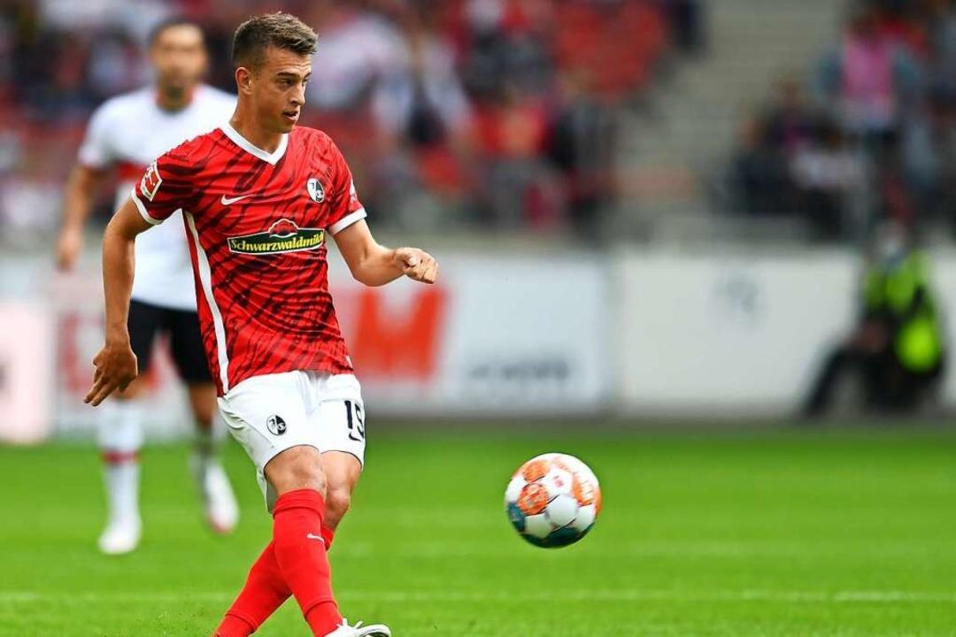 SC-Spieler Janik Haberer reist in der zweiten Pokalrunde nach Osnabrück    Foto: Achim Keller