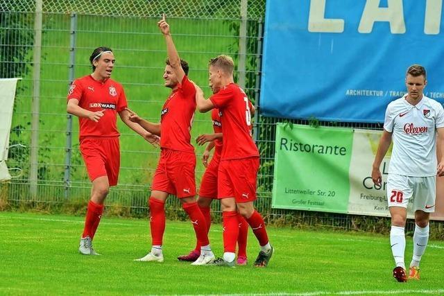 Freiburger FC kommt über ein 2:2 gegen den TSV Ilshofen nicht hinaus