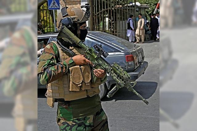 Lage in Kabul