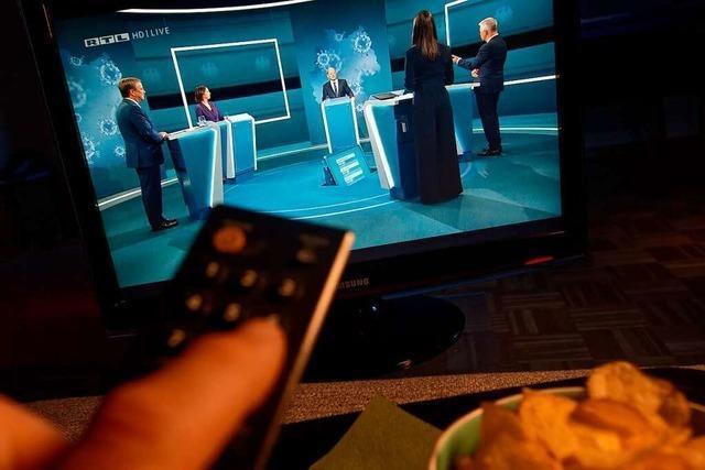 Live-Ticker zum Nachlesen: Die erste Kanzlerkandidaten-Runde im TV