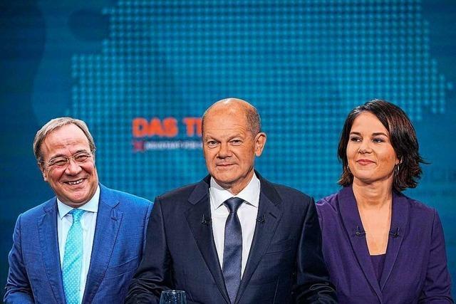 Der BZ-Check: So lief das erste Kanzlerkandidaten-Triell