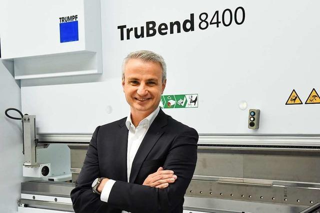 Michael Samtleben leitet nun Trumpf-Niederlassung in Teningen