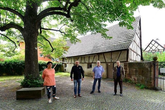 Eine Scheune in Freiburg-Haslach soll Pilgerherberge werden