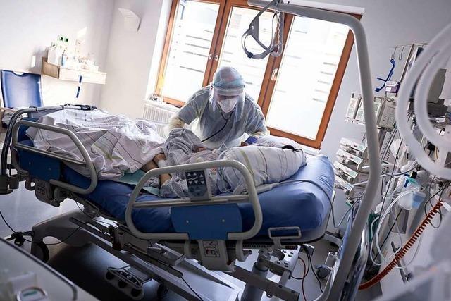 Erstmals seit Juni wieder mehr als 1000 Covid-19-Patienten auf Intensivstationen