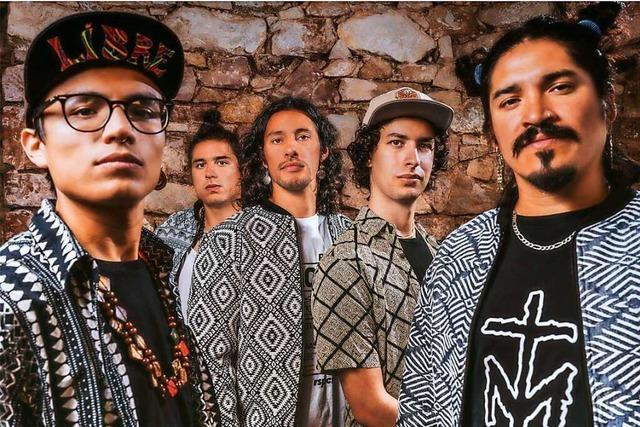 El Flecha Negra bestreiten das Finale des Parkdeck-Festivals in Weil