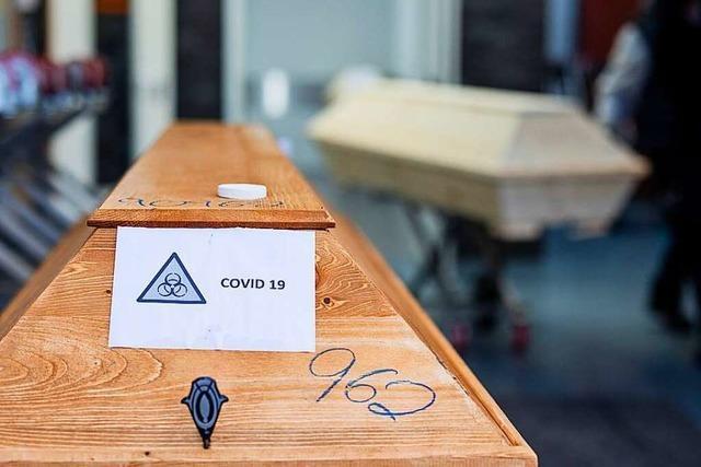WHO rechnet mit 236.000 weiteren Covid-Toten in Europa bis Dezember