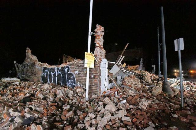 Ausmaß der Zerstörungen durch Hurrikan