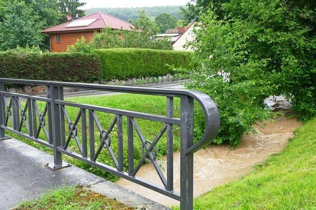 Kandern beschließt Planung eines Rückhaltebeckens in Feuerbach