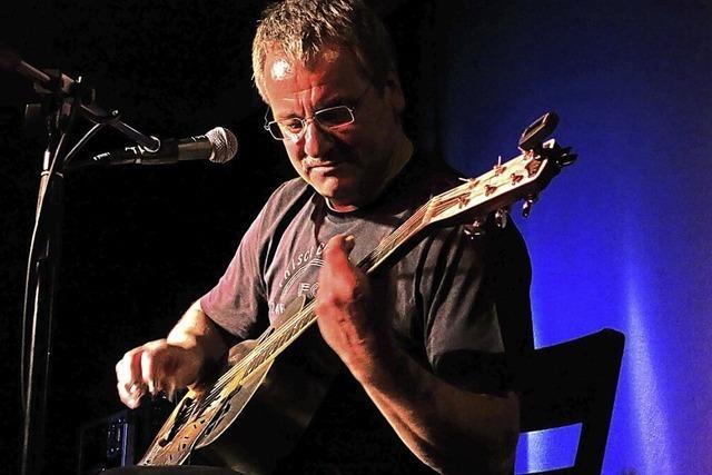 Blues pur mit Wolfgang Kalb