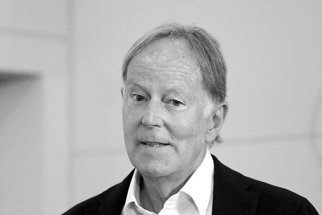 Der ZDF-Sportchef Wolf-Dieter Poschmann ist tot