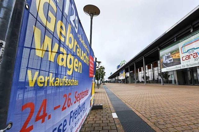 Nach dem 17. September ist die Freiburger Messe wieder die Messe