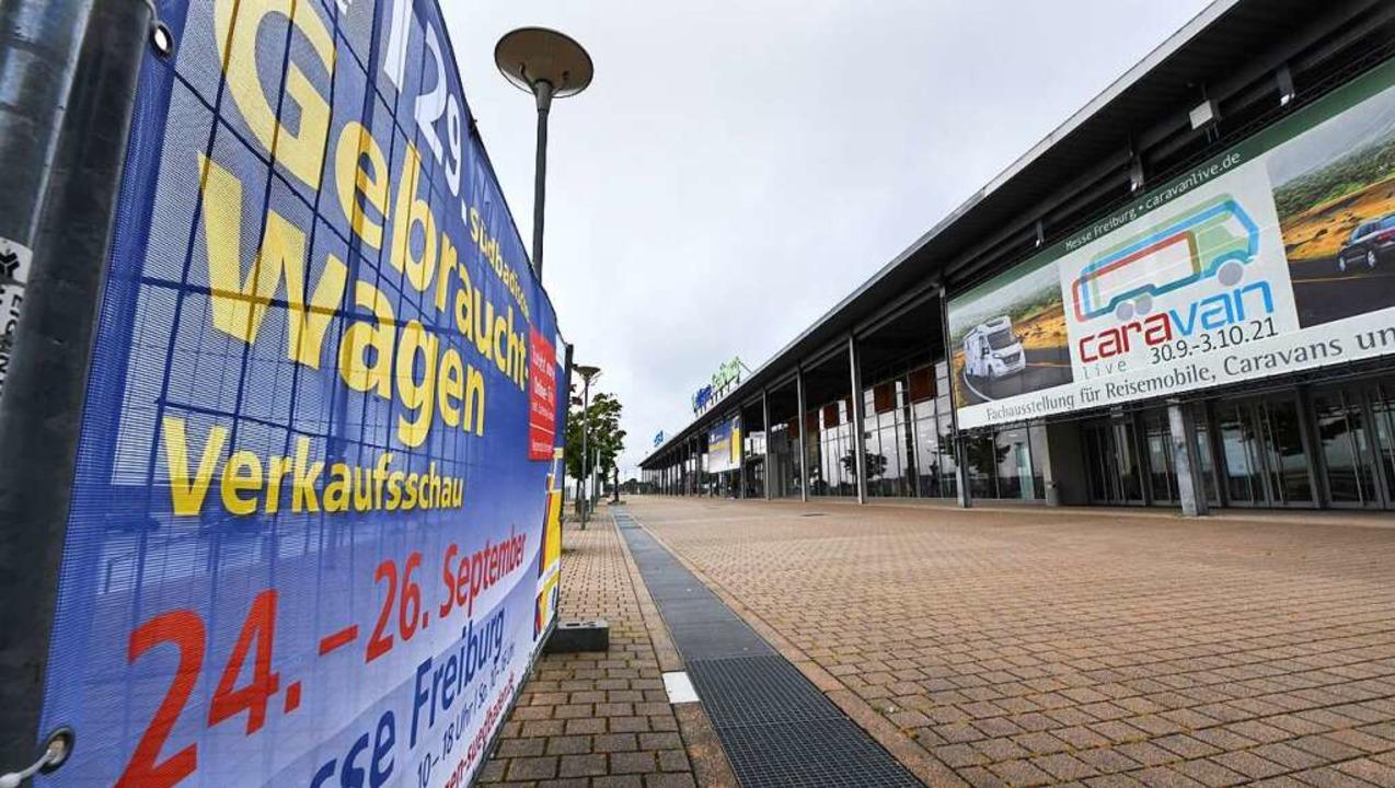Auf der Freiburger Messe kehrt nach mo...de September wird wieder ausgestellt.   | Foto: Michael Bamberger
