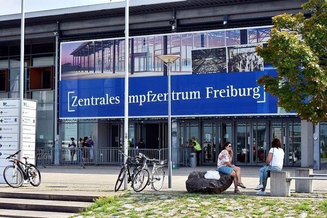Das Freiburger Impfzentrum war eine Erfolgsgeschichte