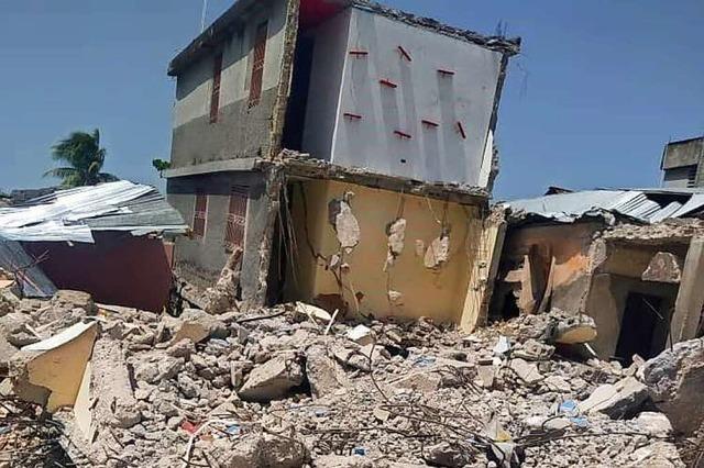 Der Verein Haiti-Partner hilft den Menschen nach dem Erdbeben