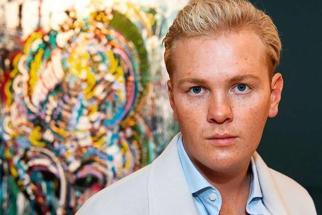 Interview mit Maler Leon Löwentraut (23), der große Ambitionen hat