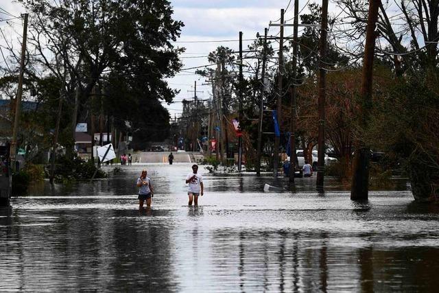 Chaos und Zerstörung: Ein Sturm weckt in den USA böse Erinnerungen