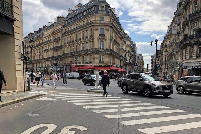 Paris bremst die Autofahrer aus