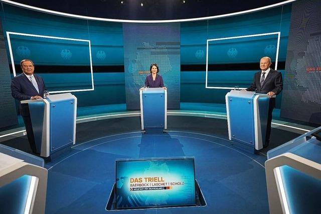 Am Wahltag wird es wohl einen Zweikampf geben